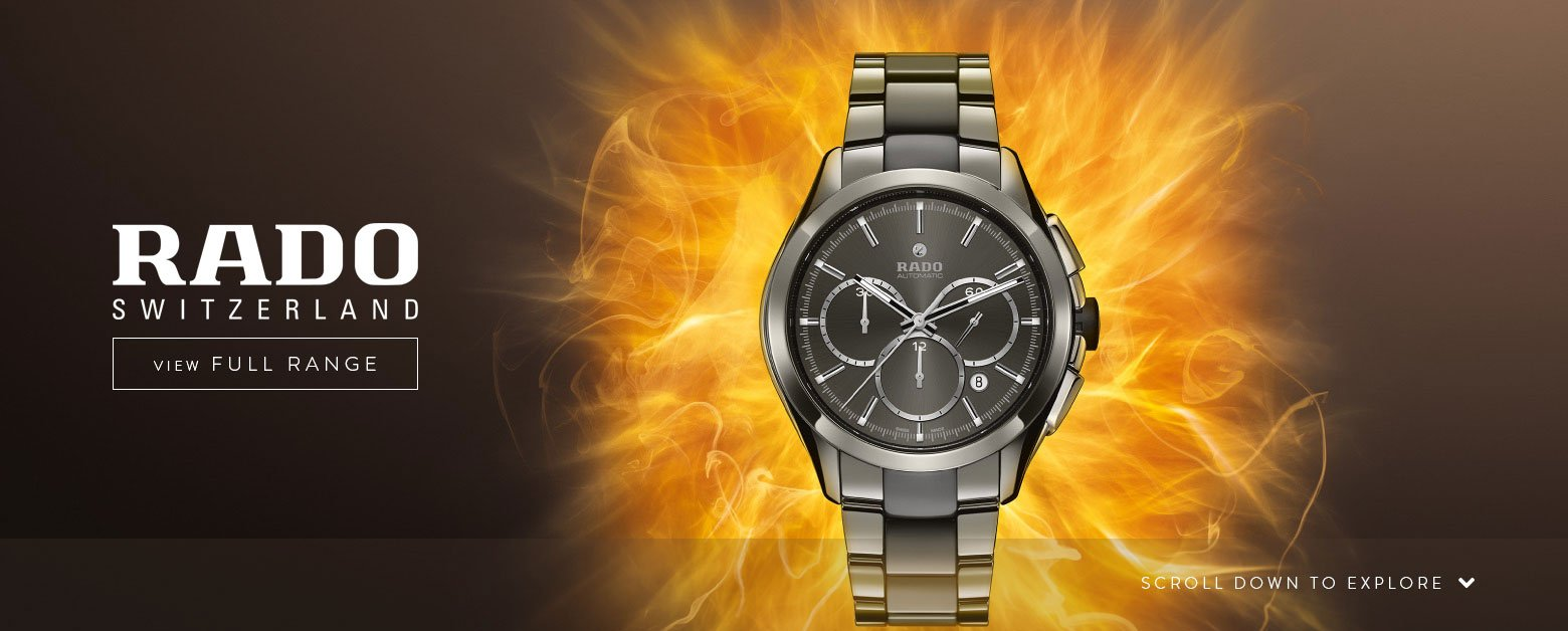 RADO Watches - View the Range