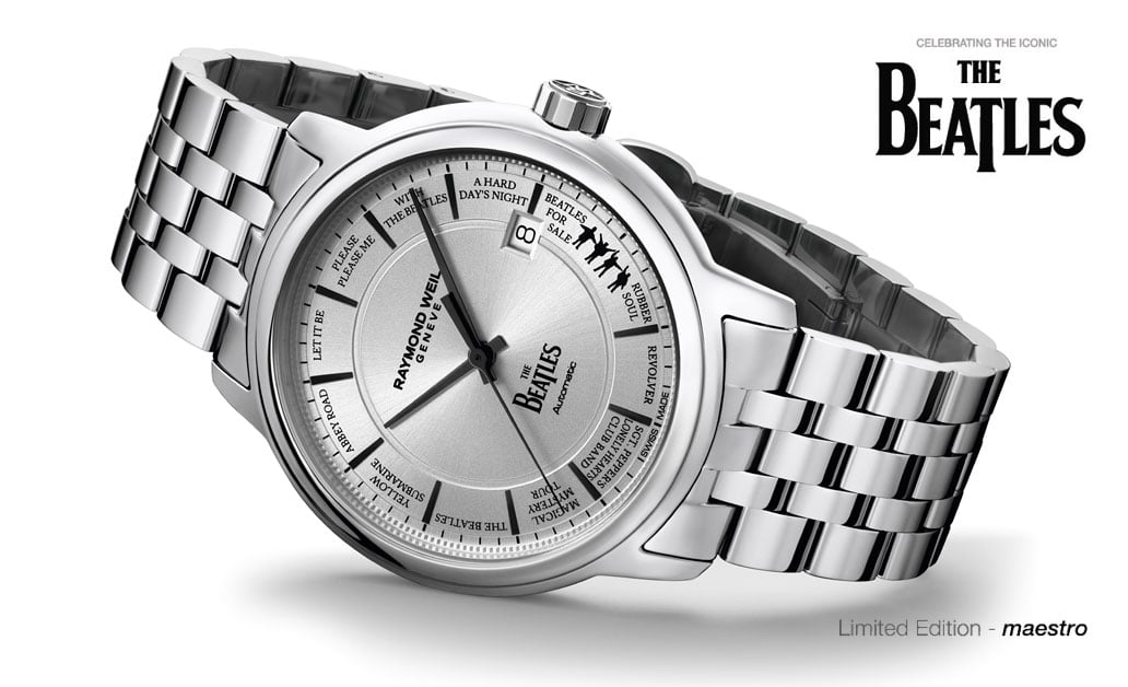 Limited Edition Raymond Weil Maestro Beatles Watch