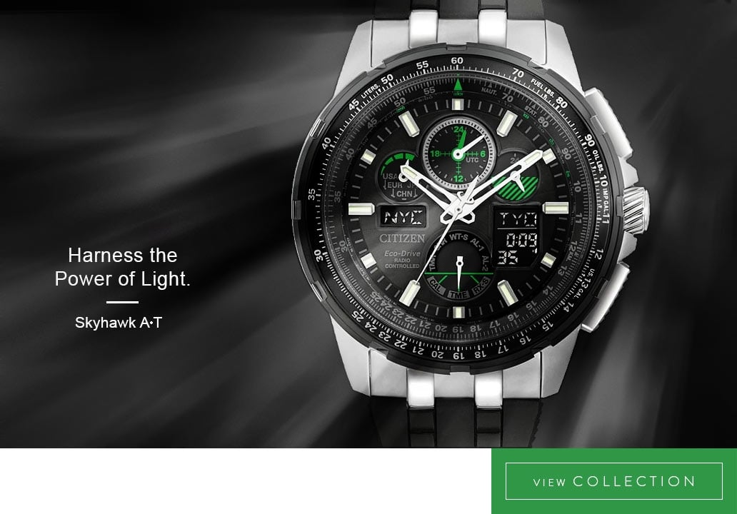 Men's Citizen Skyhawk A-T Watches - View the Collection