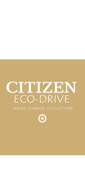 Ladiess Citizen Sunrise Watches - View the Collection