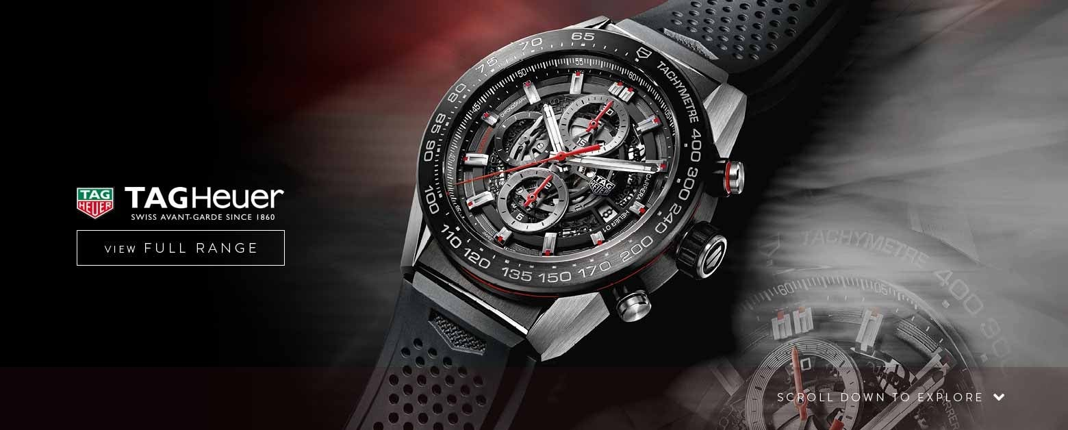 TAG Heuer Watches - View the Range