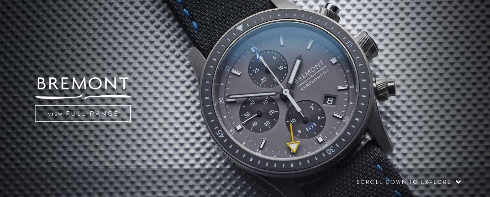 Bremont Watches - View the Range