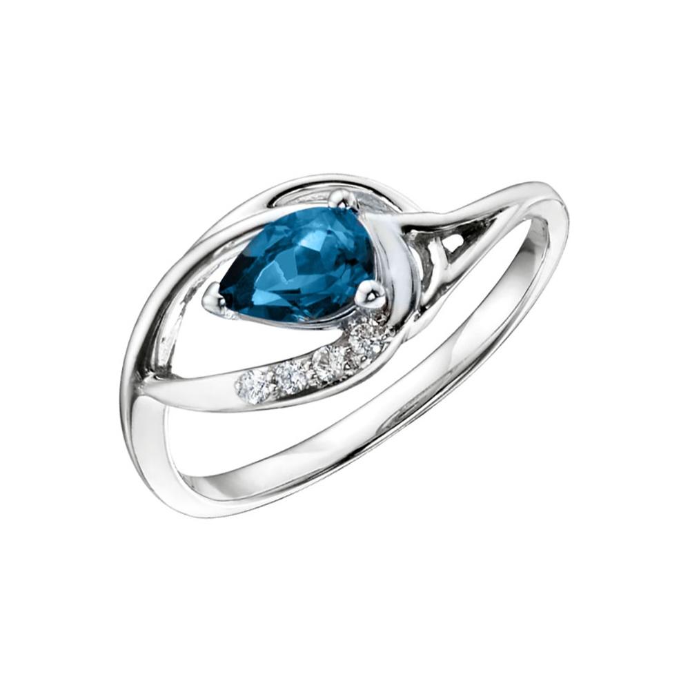 Pandora Blue Topaz Ring Review