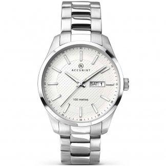 Mens Day/Date Classic Bracelet Watch 7056