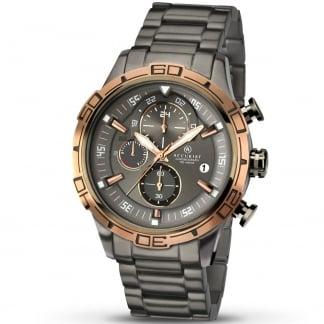 Men's Graphite Grey Chronograph Watch 7071