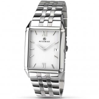 Men's Classic Stainless Steel Watch 7031