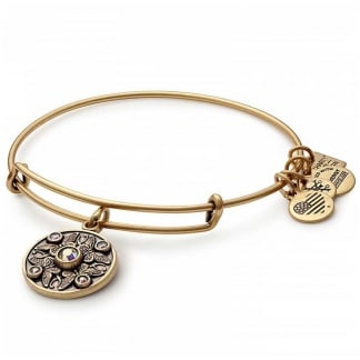 Gold Winds of Change Bangle