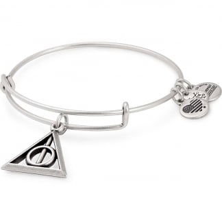 Harry Potter Deathly Hallows Silver Bangle