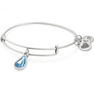 March Birthstone Bangle
