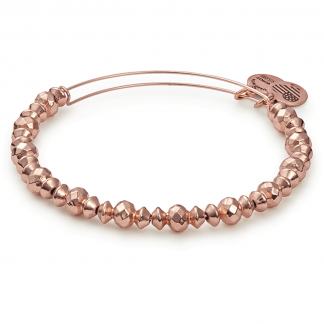 Rose Gold Beaded Canyon Bracelet