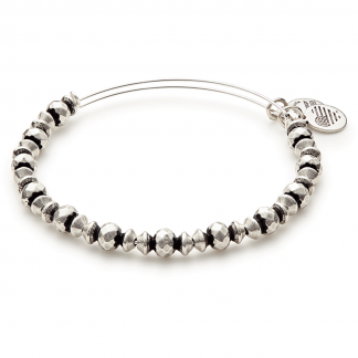 Silver Canyon Beaded Bracelet