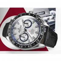 """Alpina Alpiner 4 Chronograph """"Race For Water"""" Limited Edition Watch AL-860AD5AQ6"""