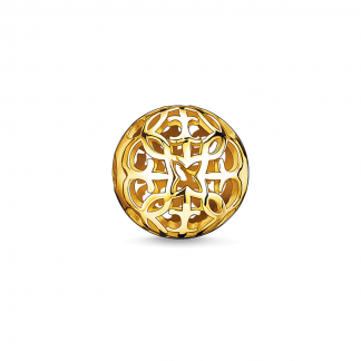 Arabesque Gold Karma Bead