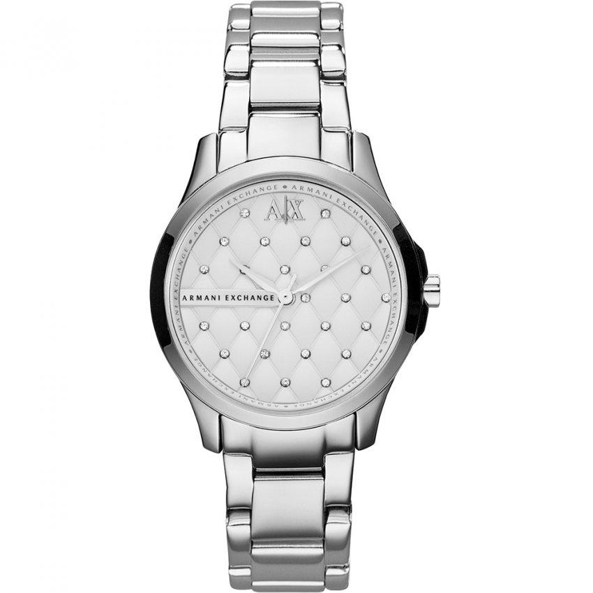 Armani Exchange Ladies All Steel Bracelet Watch AX5208
