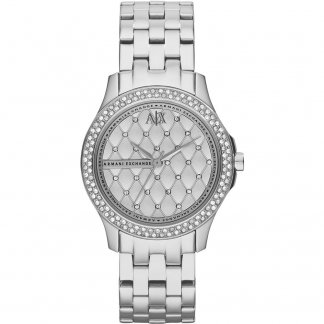 Ladies Stone Set Fashion Watch