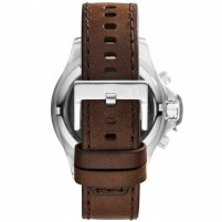 Armani Exchange Men's Chunky Leather Strap Watch AX1505