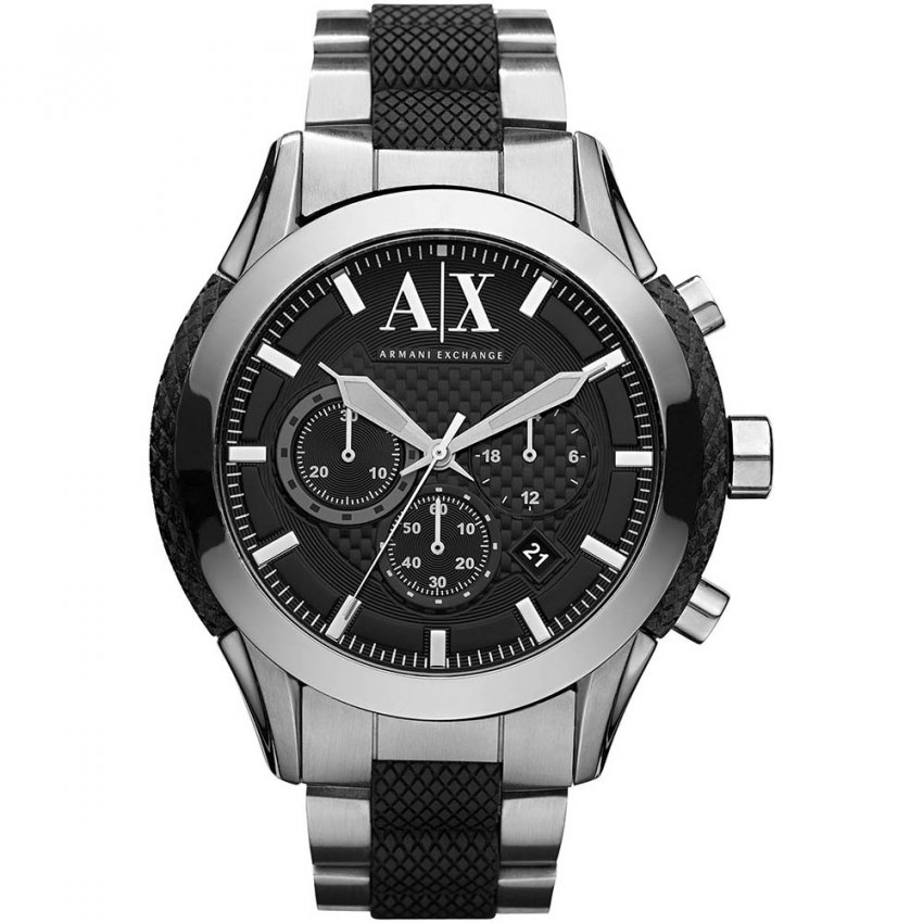 Men's Large Zulu Chronograph Watch AX1214