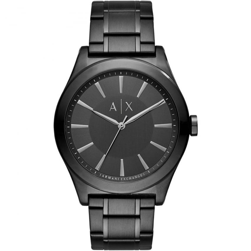 Armani Exchange Men's Nico Black PVD Bracelet Watch AX2322