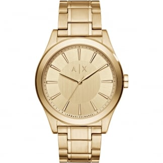 Men's Nico Gold Tone Bracelet Watch