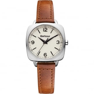 Ladies Chapton Tan Leather Strap Watch