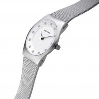 Bering Ladies Classic Milanese Swarovski Set Watch 11927-000