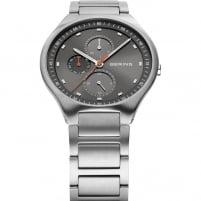 Bering Men's Titanium Grey Multifunction Watch 11741-702