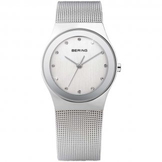 Swarovski Set Ladies Mesh Strap Watch