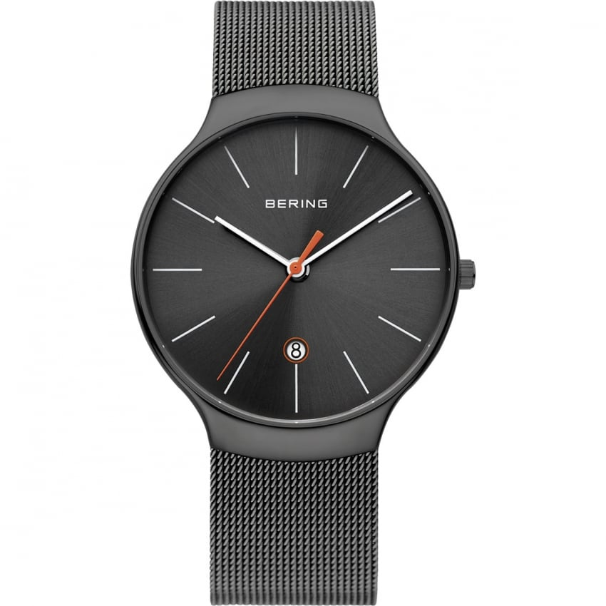 Bering Unisex Classic All Black Watch 13338-077