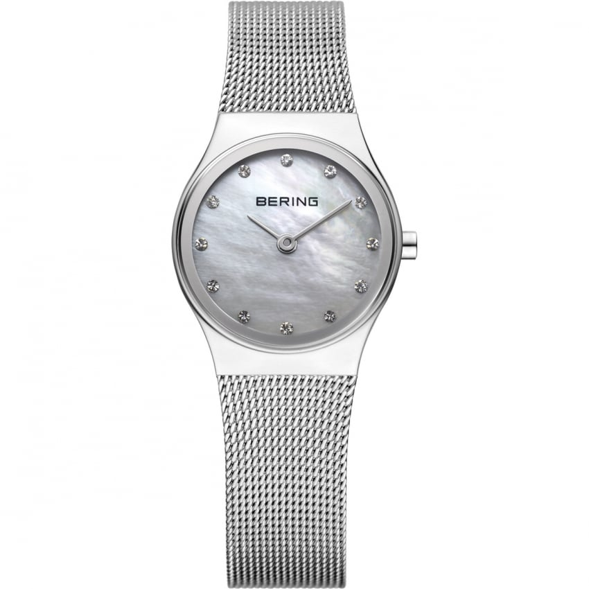 Bering Women's Classic Quartz Watch With MOP Dial 12924-000