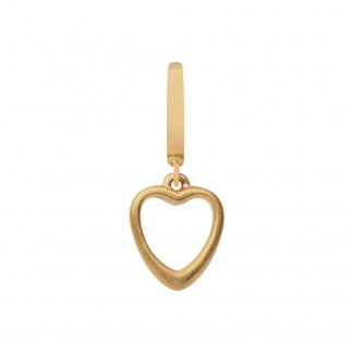 Big Heart Gold Charm