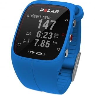 Blue M400 GPS Running Watch