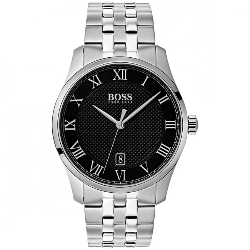 e3a2e6e75 BOSS Men's Master Black Dial Bracelet Watch - Watches from Francis ...