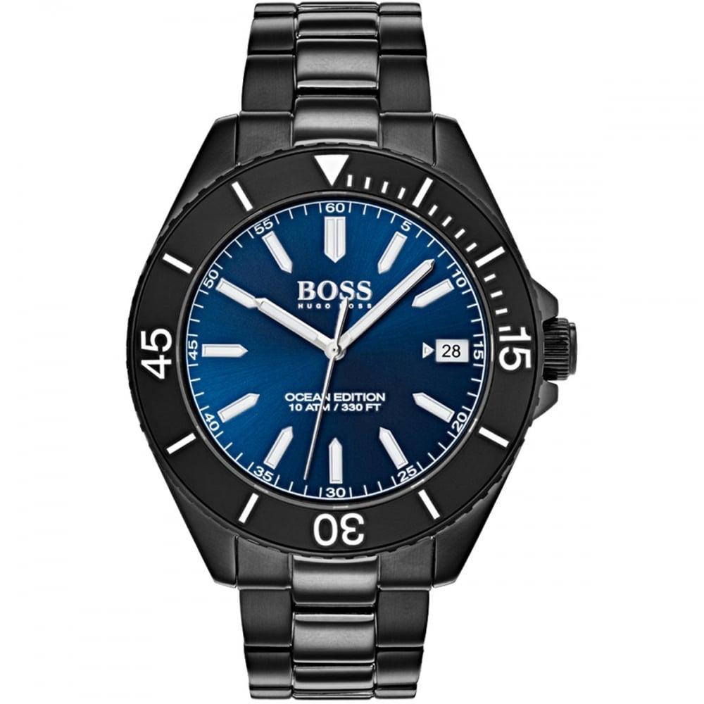 34bc4da940c12d BOSS Men's Ocean Edition Large Blue/Black Watch Product Code: 1513559