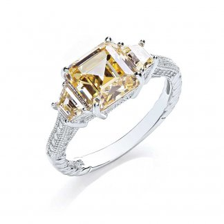 Three Stone Dress Ring BR072