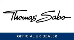 Thomas Sabo Black Waxed Cotton Bracelet