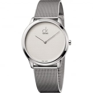 Men's 40mm Mesh Bracelet Watch