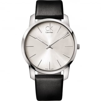 Men's Silver Dial City Watch