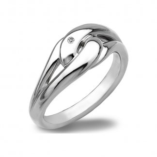Silver Capture Me Ring DR086