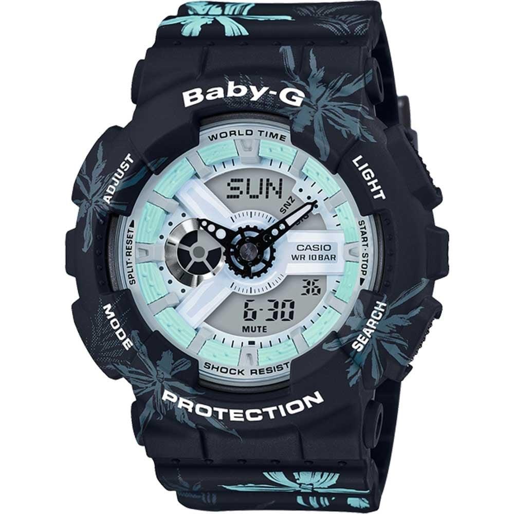 ea602b1f4aed Casio G-Shock Ladies USA West Coast Beach Baby-G Watch Product Code   BA-110CF-1AER