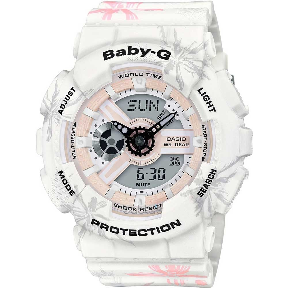 cc196775cc67 Casio G-Shock Ladies USA West Coast Beach Baby-G Watch Product Code   BA-110CF-7AER