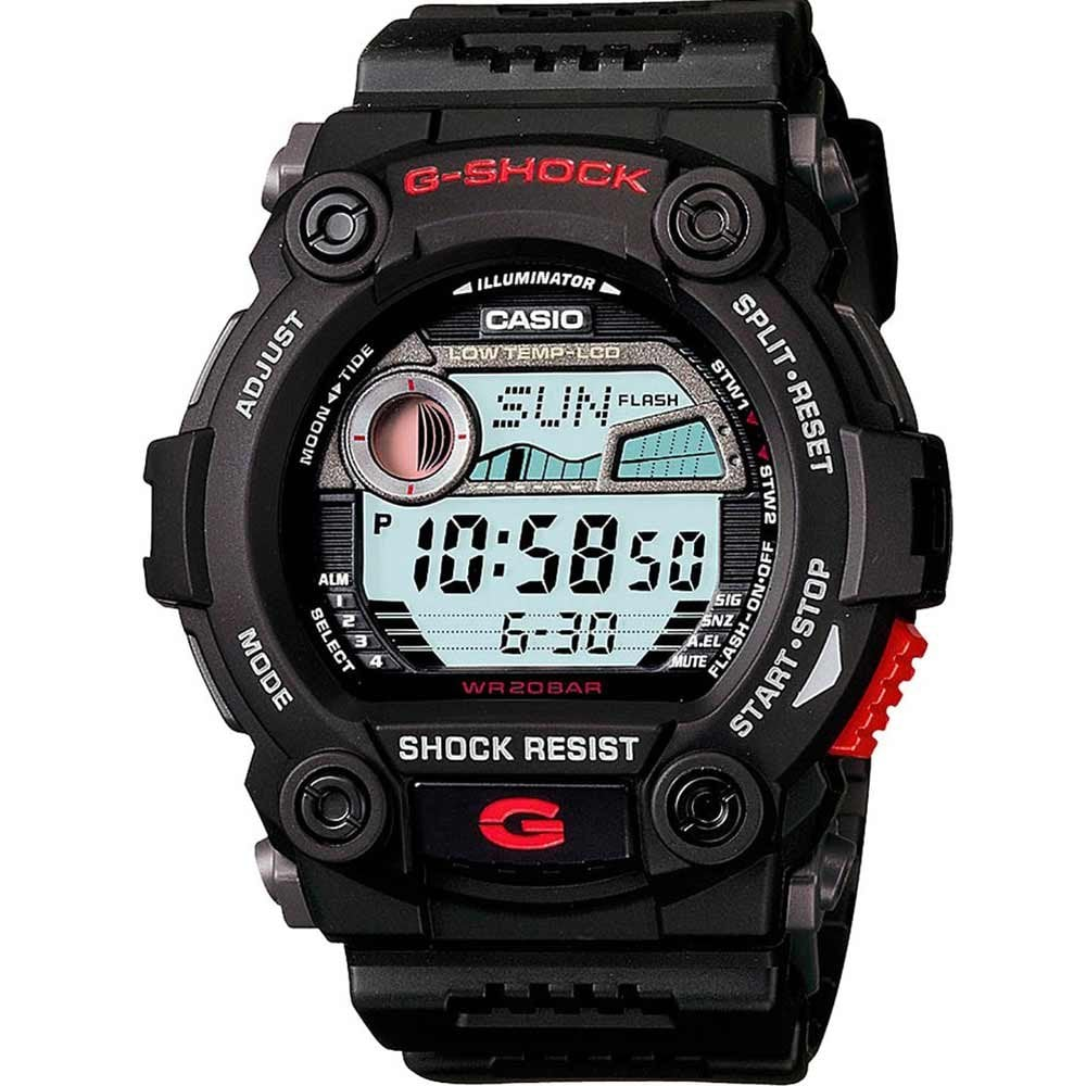 Casio G Shock Men S G Rescue Alarm Chronograph Watch