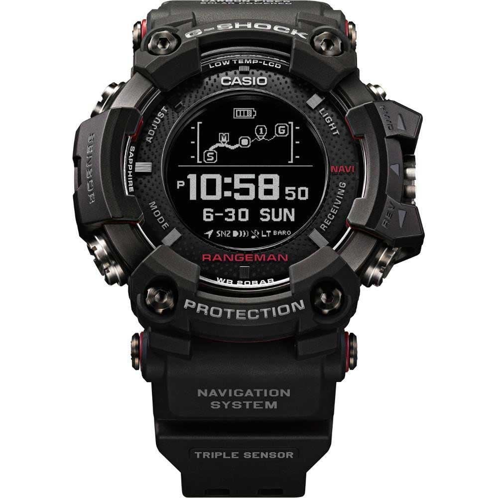 58109513a08e Casio G-Shock Men s Rangeman GPS Navigator Triple-Sensor Solar Watch ...