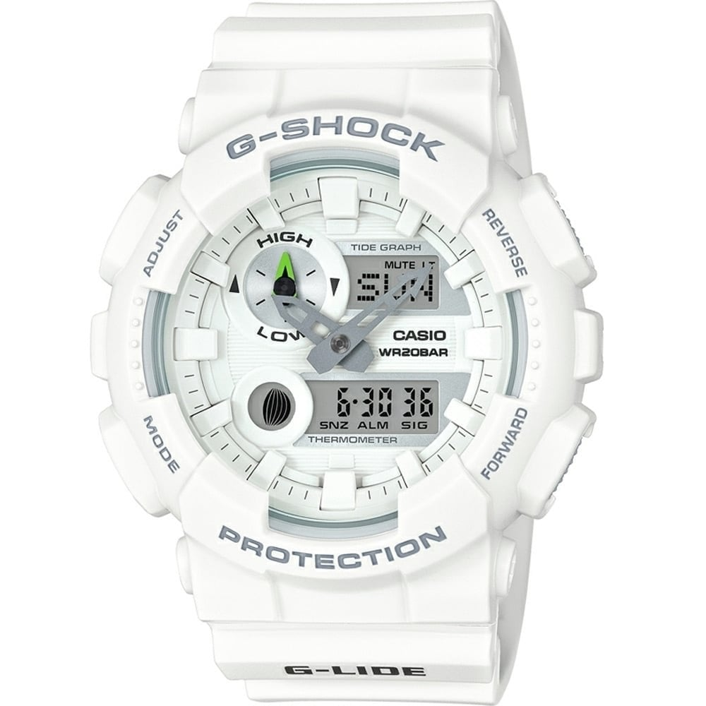 520ebad93808c Casio G-Shock Men s White Tide   Moon Display Watch Product Code   GAX-100A-7AER