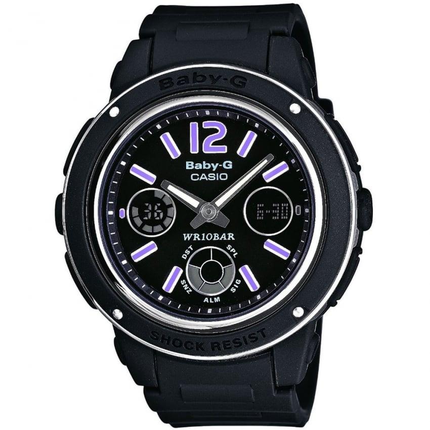 Casio Ladies Baby-G Alarm Chronograph Watch BGA-150-1BER
