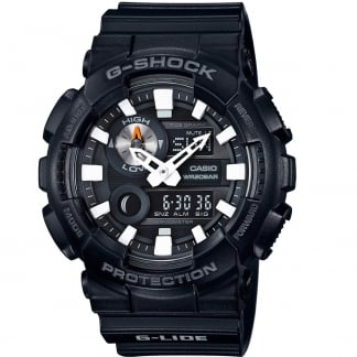 Men's Black G-Shock Tide & Moon Display Watch GAX-100B-1AER