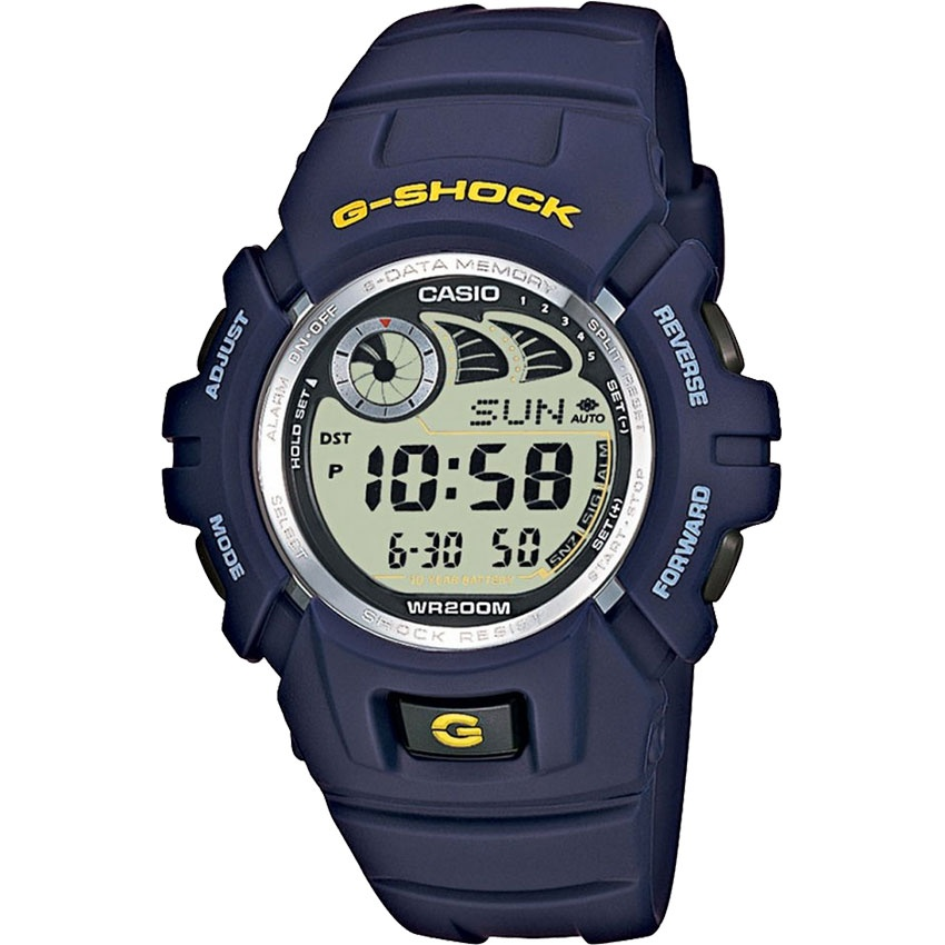 Casio Men's e-Databank Blue G-Shock Watch G-2900F-2VER