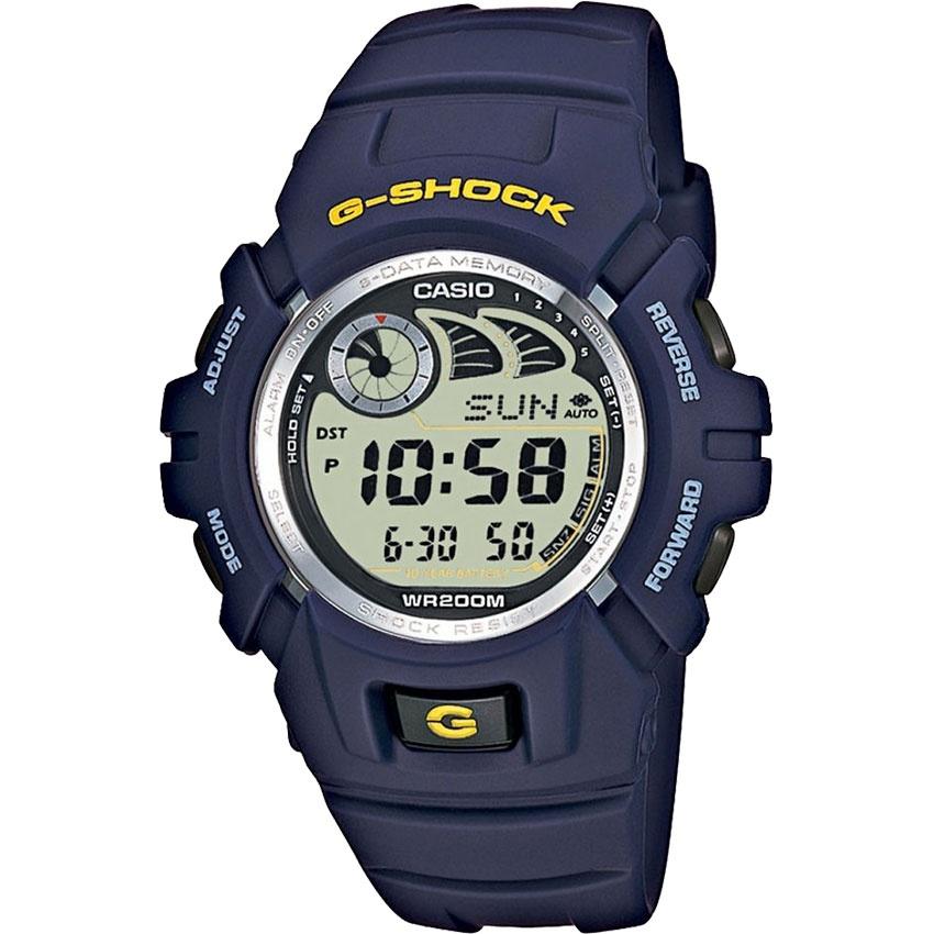 Casio Men's e-Databank Blue G-Shock Watch G-2900F-2VER