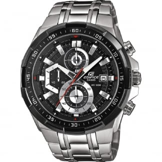 Men's Edifice 100M Steel Chronograph Watch EFR-539D-1AVUEF