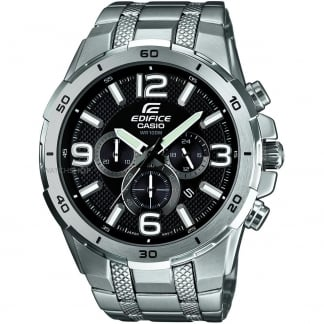 Men's Edifice Stainless Steel Chronograph Watch EFR-538D-1AVUEF