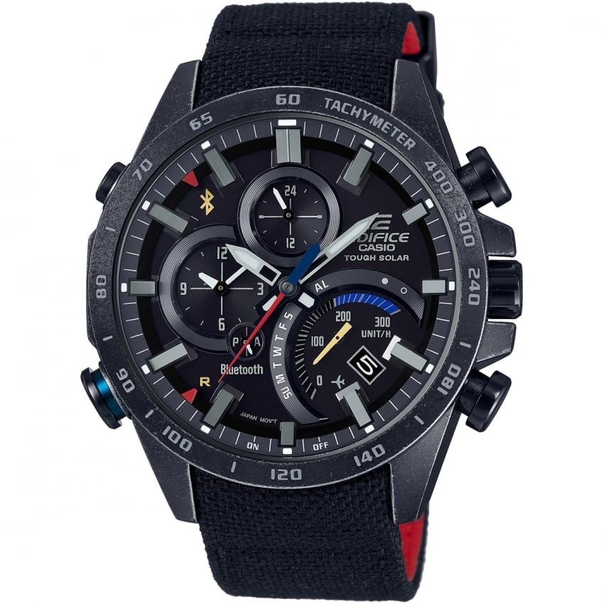 Casio Men S Edifice Toro Rosso Limited Edition Bluetooth